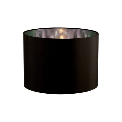 Diyas ILS20282 Duo Round Shade Medium Black/Chrome 350mm x 250mm