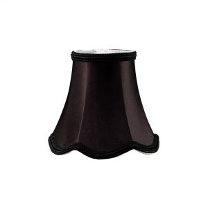 Diyas ILS10601 Onida Clip-On Fabric Shade Black 70/130mm x 120mm