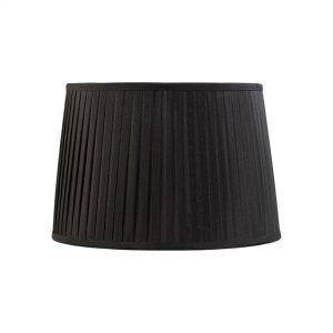 Diyas ILS20204 Stella Round Shade Black 300/350mm x 250mm
