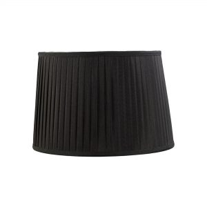 Diyas ILS20205 Stella Round Shade Black 350/400mm x 263mm