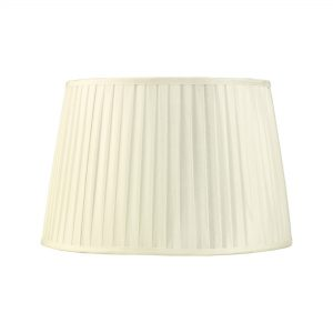 Diyas ILS20210 Stella Round Shade Ivory 350/400mm x 263mm