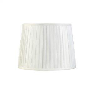 Diyas ILS20213 Stella Round Shade White 250/300mm x225mm