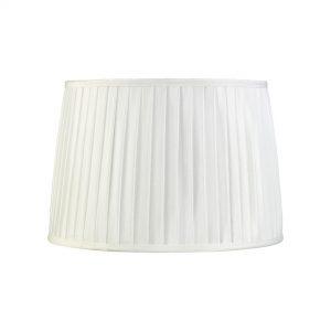 Diyas ILS20214 Stella Round Shade White 300/350mm x 250mm