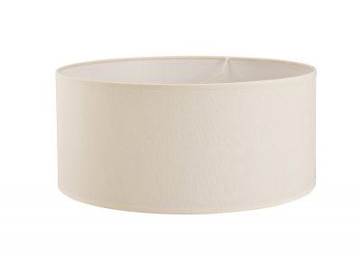 Diyas ILS20294 Victoria Round Fabric Shade Ivory Cream 500 x 225mm