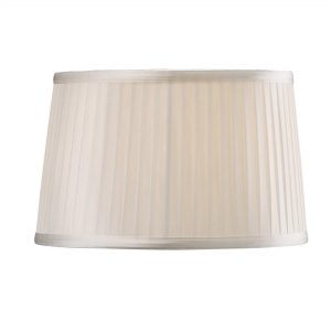 Diyas ILS31210 Willow Fabric Shade White 260/300mm x 190mm