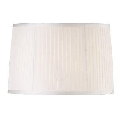 Diyas ILS31214 Willow Fabric Shade White 360/400mm x 260mm