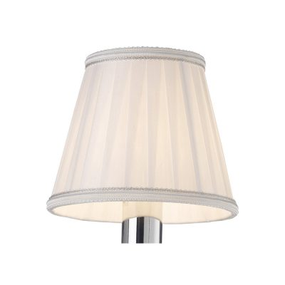 Diyas ILS31218 Willow Clip On Shade White 80/130mm x 110mm
