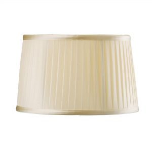 Diyas ILS31220 Willow Fabric Shade Cream 260/300mm x 190mm