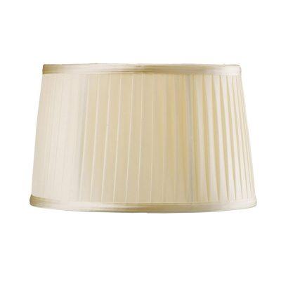 Diyas ILS31220 Willow Fabric Shade Cream 260/300mm x 190mm